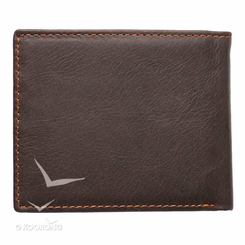 Mens Genuine Leather Wallet Tan: Eagle Soft Goods