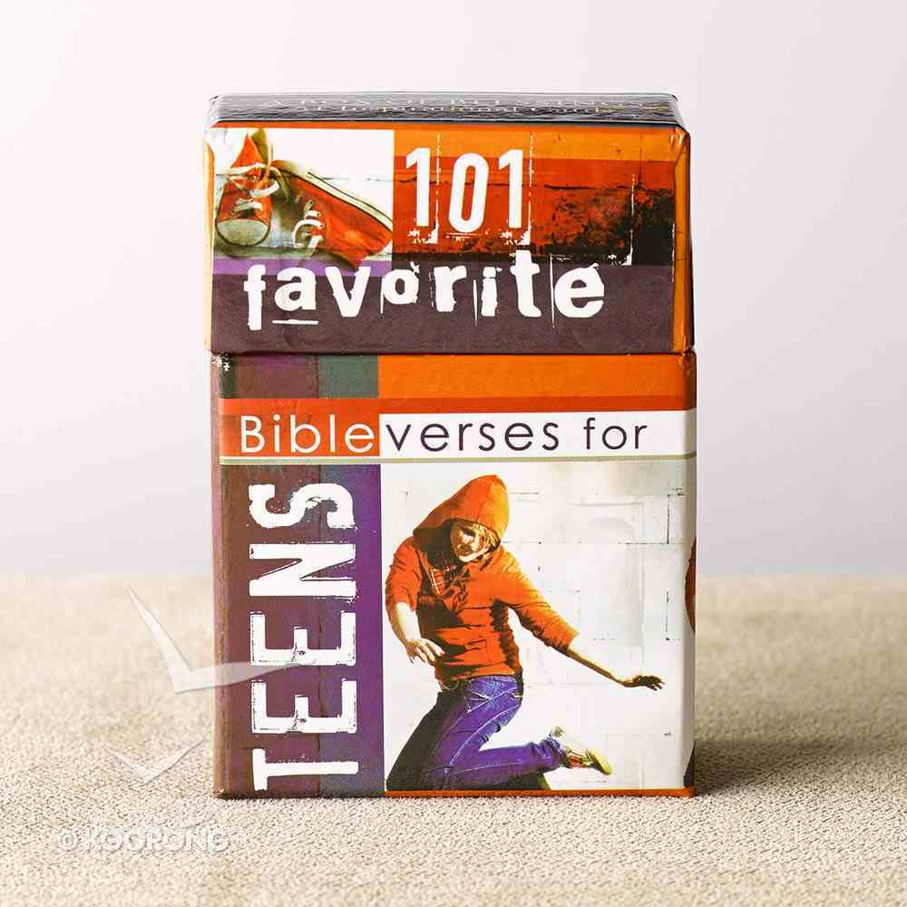 Box of Blessings: 101 Favourite Bible Verses For Teens Box