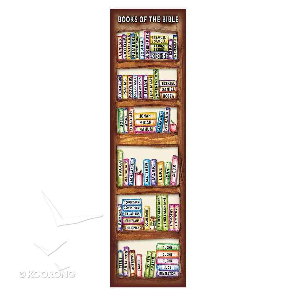 Bookmark: Books of the Bible (10 Pack) Stationery