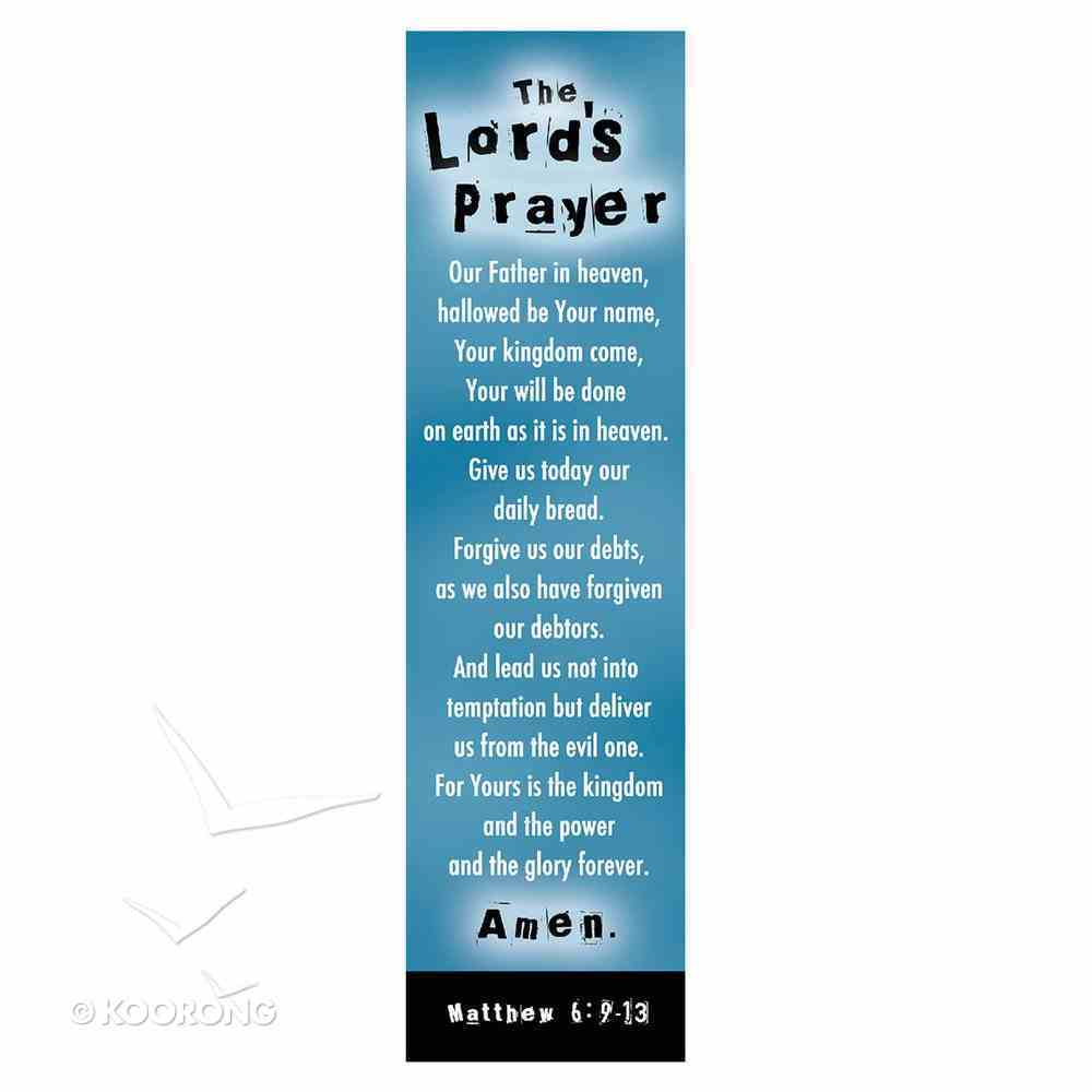 Bookmark: The Lord's Prayer (10 Pack) Stationery