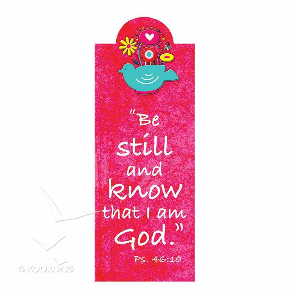 Bookmark Magnetic: Be Still and Know That I Am God Stationery