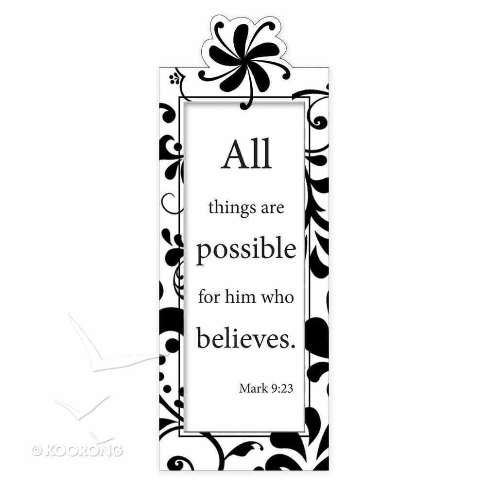 Bookmark Magnetic: All Things Are Possible... Stationery