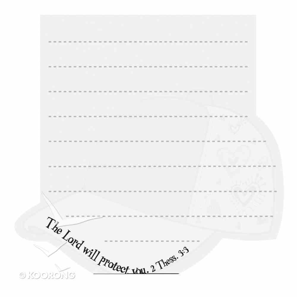 Notepad Die-Cut: Little Miss Grace the Lord Will Protect You Stationery