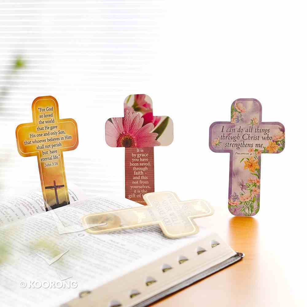 Bookmark Cross-Shaped: For God So Loved the World.... John 3:16 Stationery