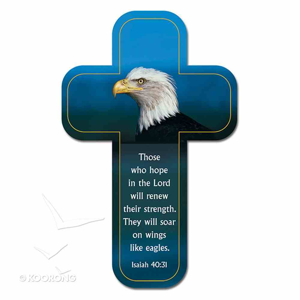 Bookmark Cross-Shaped: Those Who Hope in the Lord.... Isaiah 40:31 Stationery
