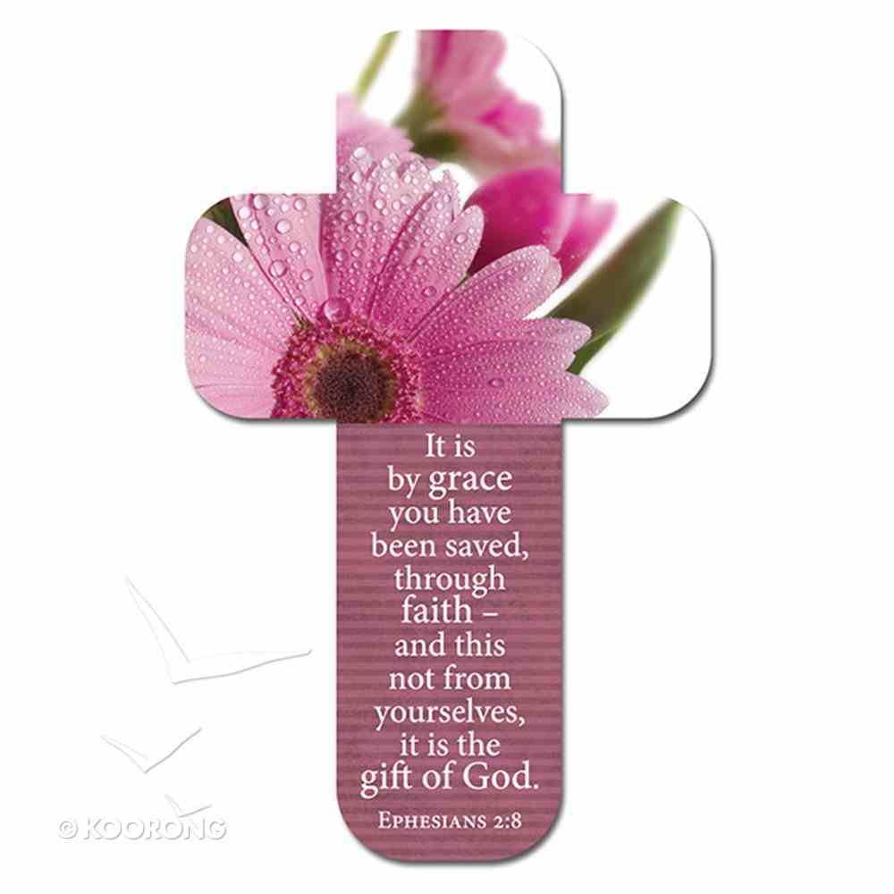 Bookmark Cross-Shaped: It is By Grace You Have Been Saved.... Ephesians 2:8 Stationery