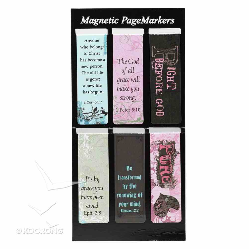 Bookmark Magnetic: Witness Gear (Set Of 6) Stationery