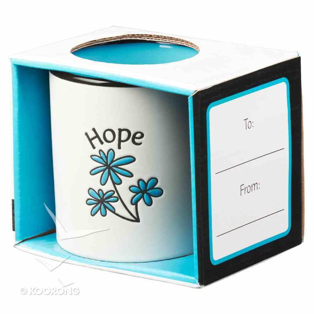 Inspirational Mug: Hope White/Blue Homeware