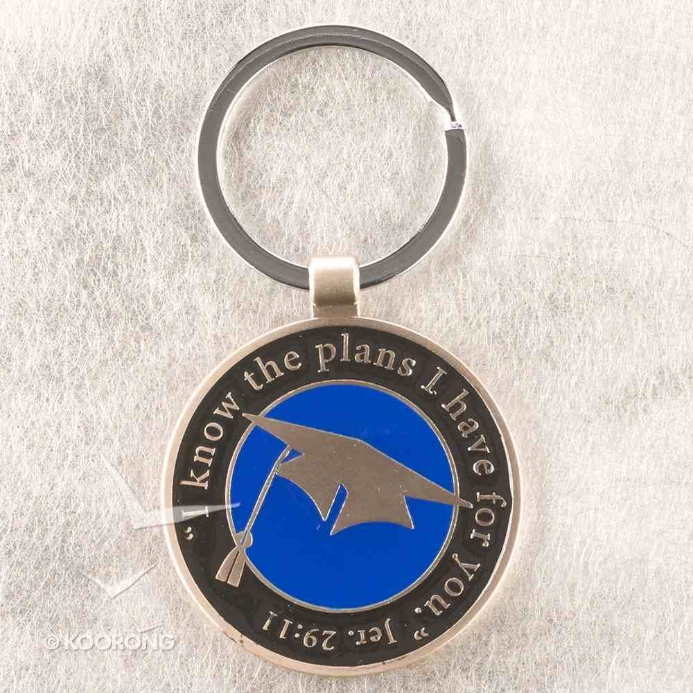 Quality Metal Graduation Keyring: Jeremiah 29:11, For I Know the Plans I Have For You Jewellery