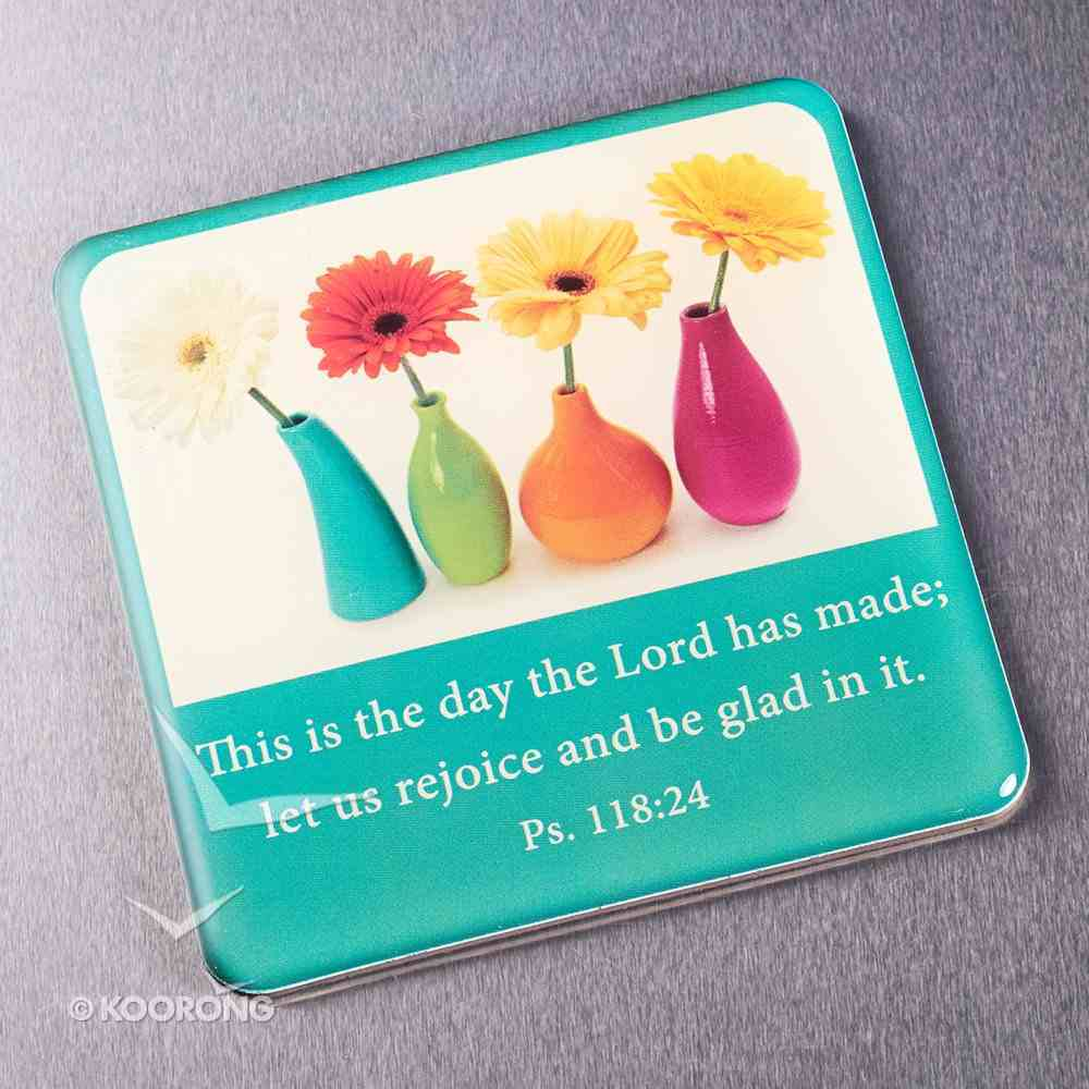 Meaningful Magnet: Flowerpots Novelty