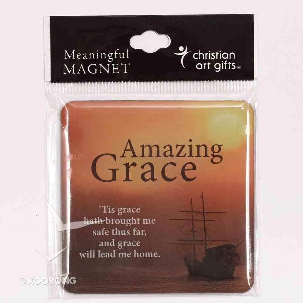 Meaningful Magnet: Amazing Grace Novelty