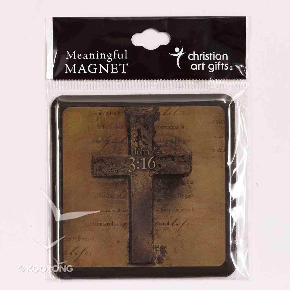 Meaningful Magnet: Cross, 3:16 Novelty