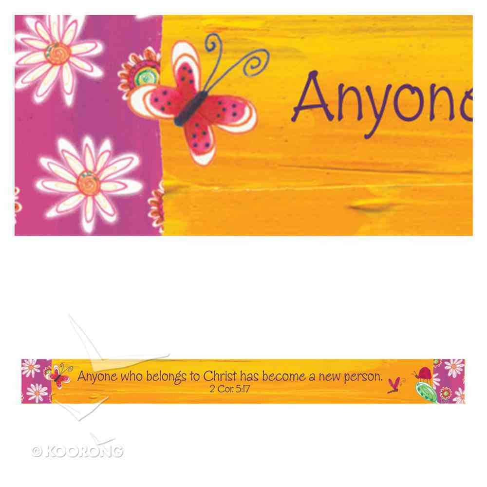 Magnet Strip: Anyone Who Belongs to Christ... (2 Cor 5:17) Novelty