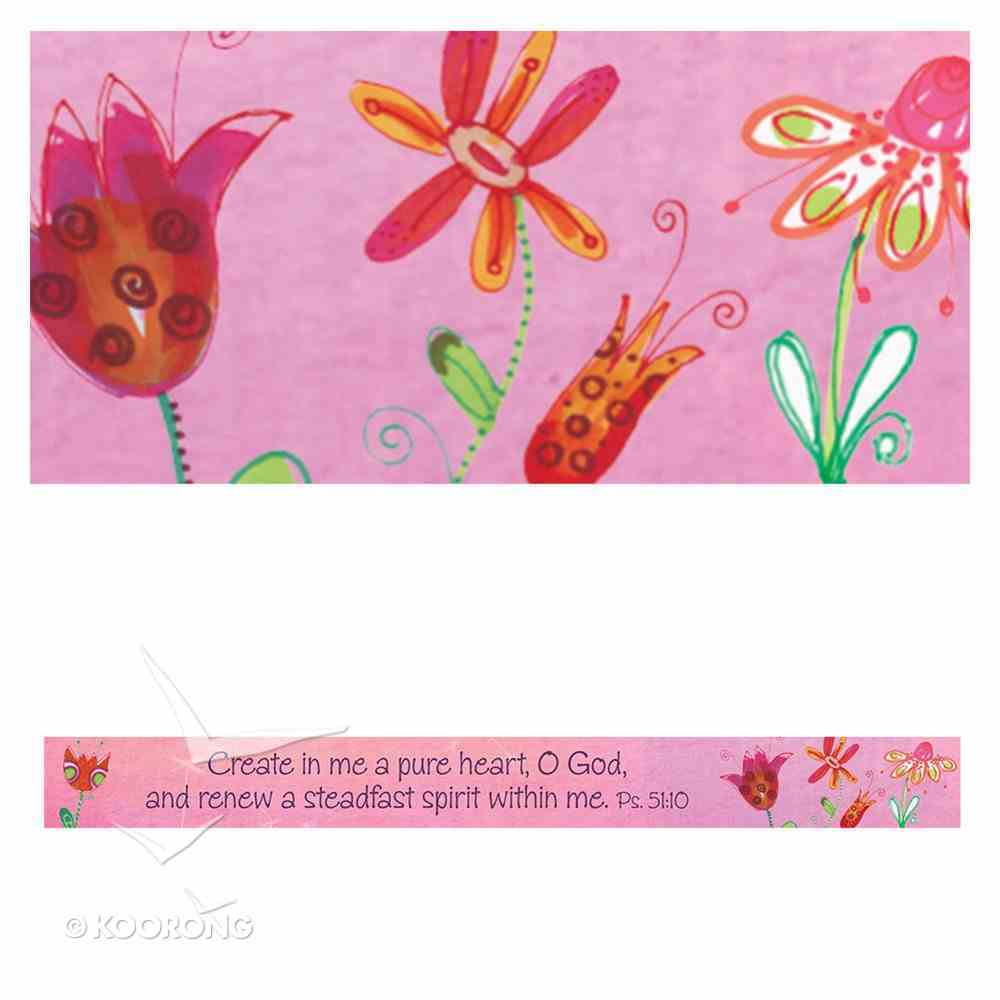 Magnet Strip: Create in Me a Pure Heart, O God... (Psalm 51:10) Novelty