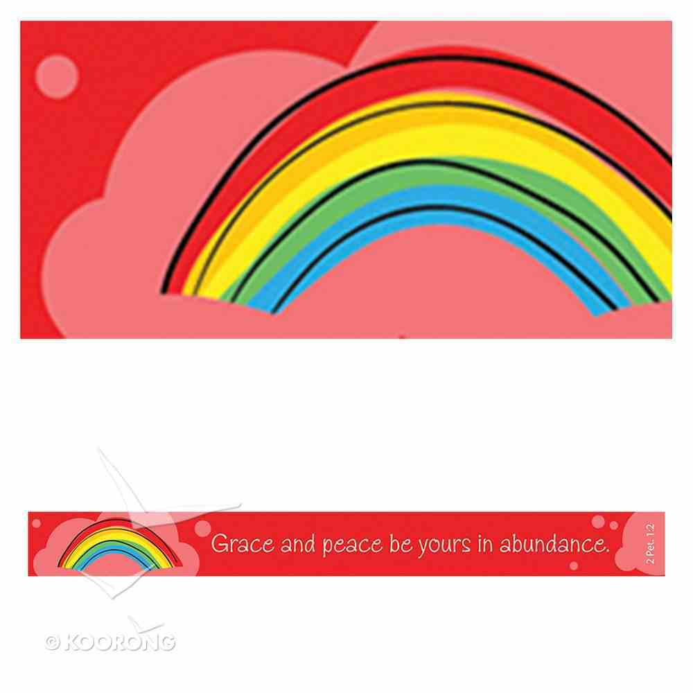 Magnet Strip: Grace and Peace Be Yours in Abundance (2 Pet 1:2) Novelty