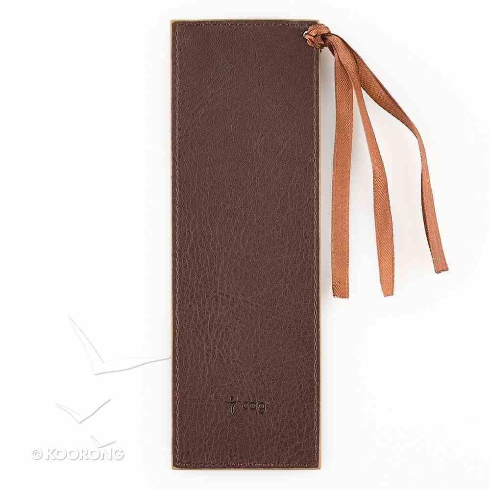 Bookmark: I Can Do Everything Luxleather Imitation Leather