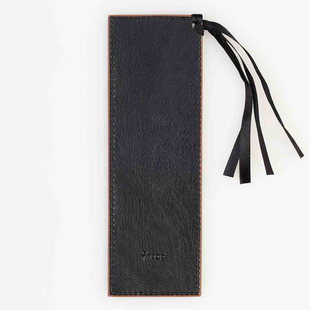 Bookmark: Be Strong and Courageous Luxleather Imitation Leather