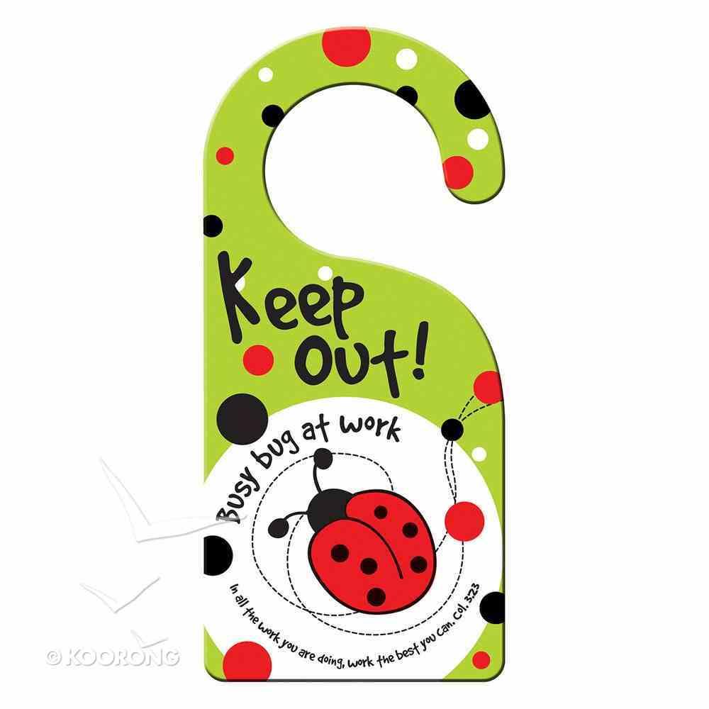 Doorknob Hanger: Laedee Bugg - 3 Double-Sided Hanger/Set Novelty