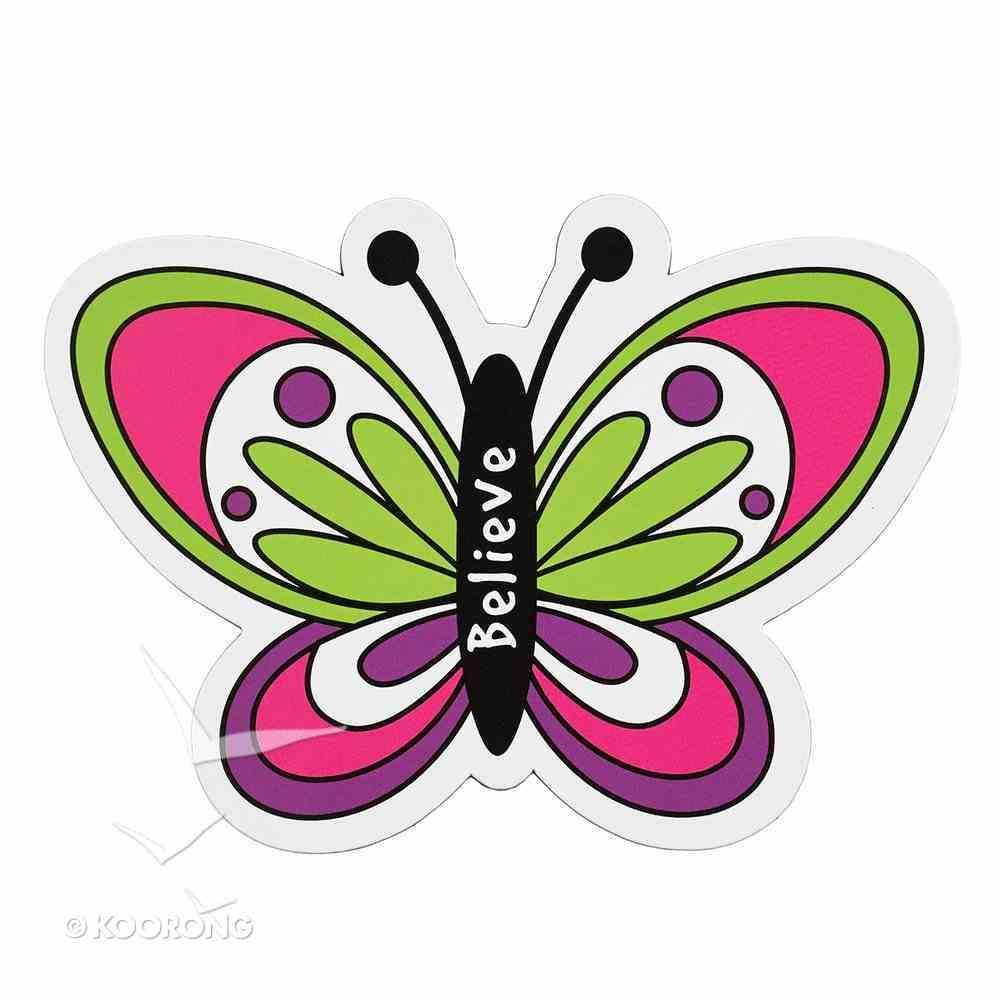 Magnet Laedee Bugg Die-Cut: Butterfly - Believe Novelty