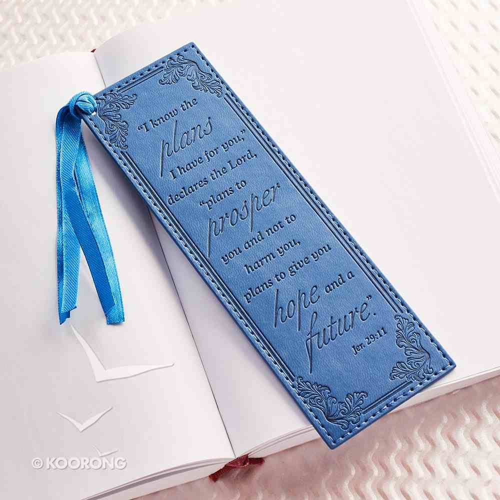 Bookmark: For I Know the Plans I Have For You Luxleather Imitation Leather