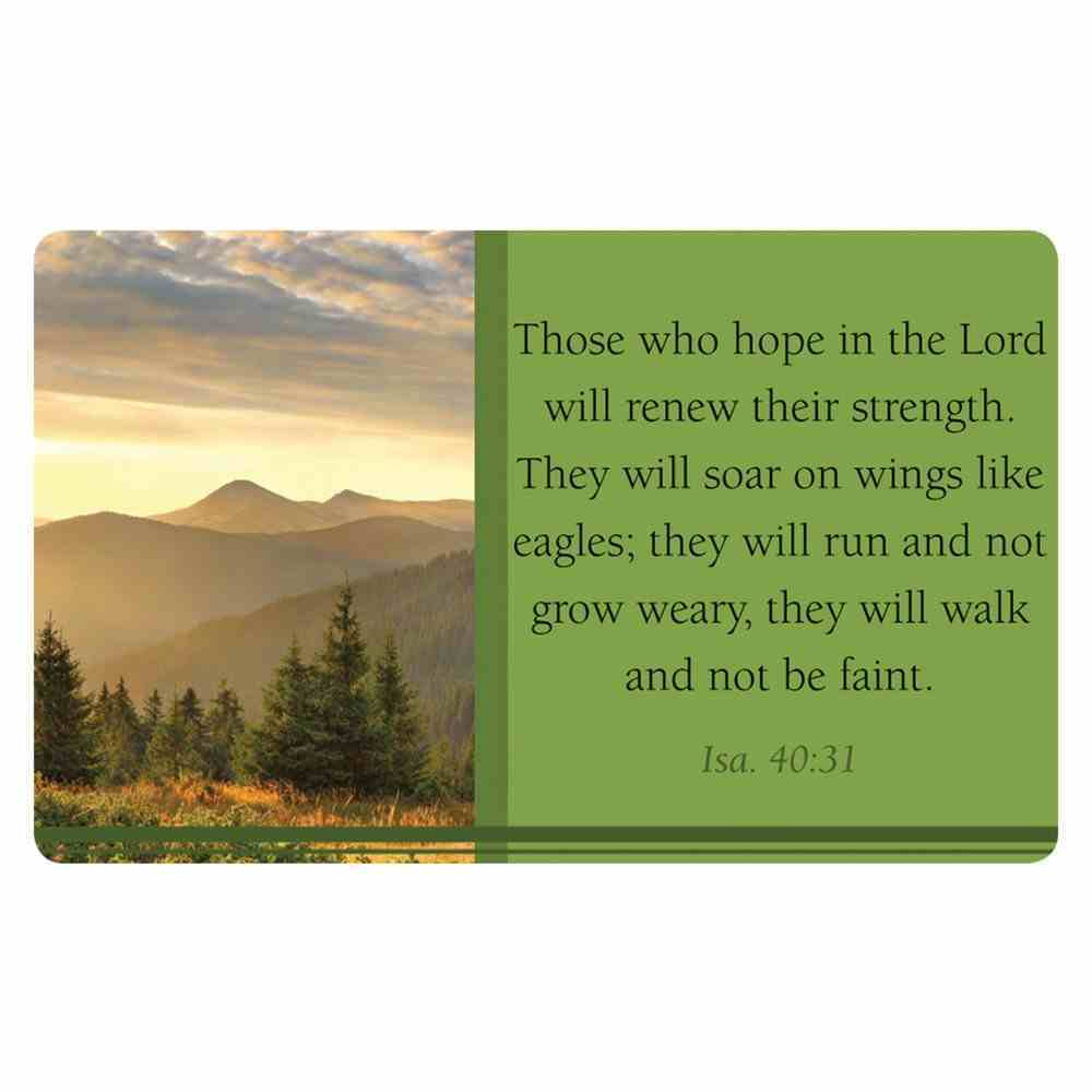 Faithbuilders: Hope For the Heart, Pack of 20 Cards (5 Each Of 4 Designs) Cards