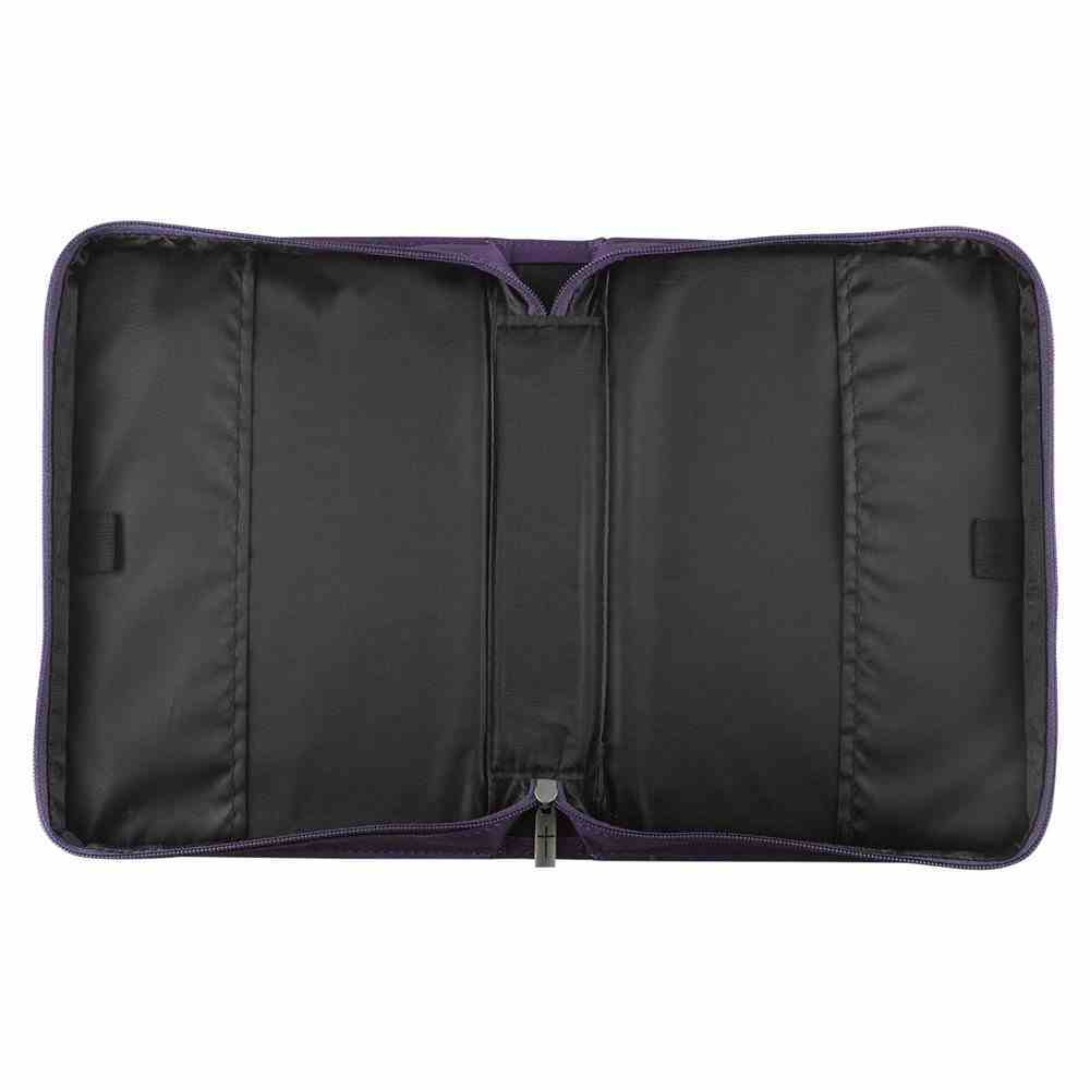 Bible Cover I Know the Plans Medium: Jeremiah 29:11, Purple Imitation Leather