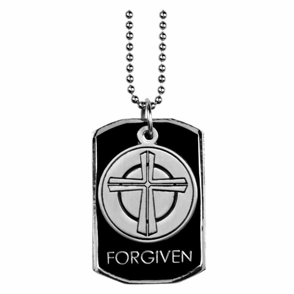 Dog Tag: Forgiven, Cross Jewellery