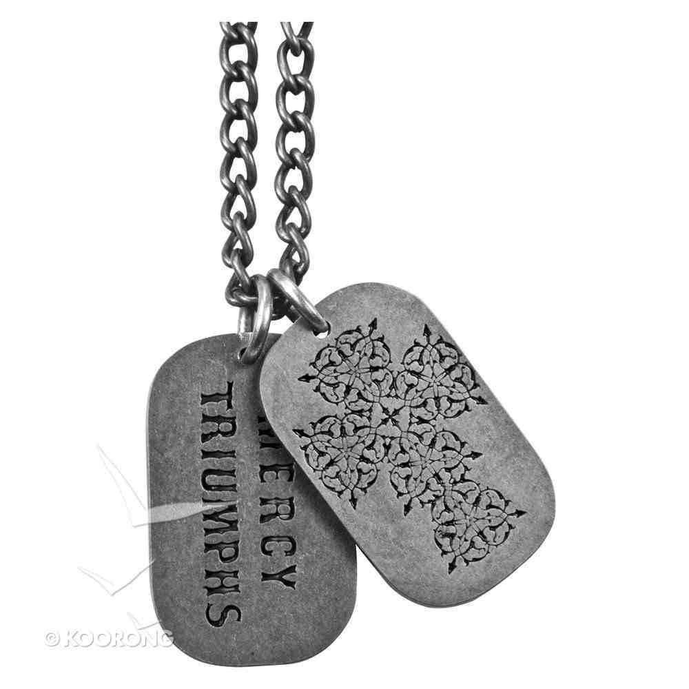 Dog Tag: Cross, Celtic Jewellery