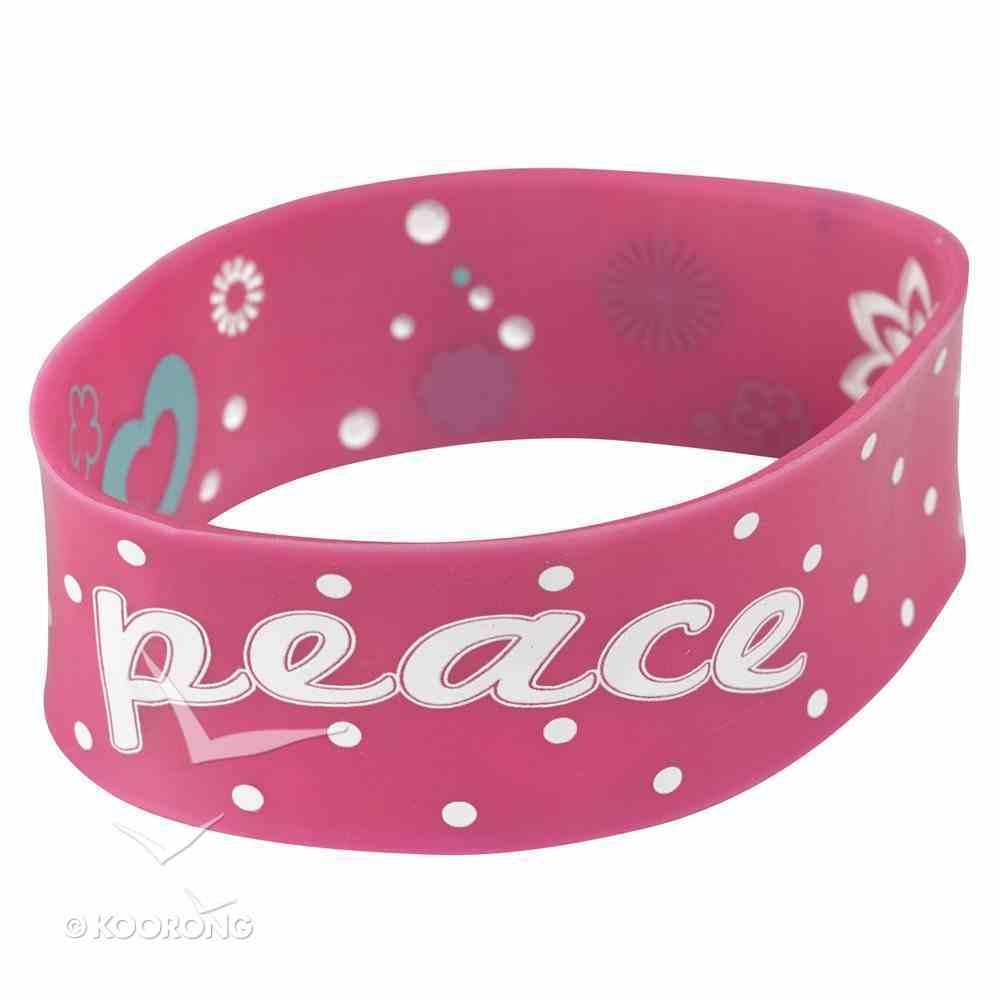 Silicon Wristband: Peace Jewellery