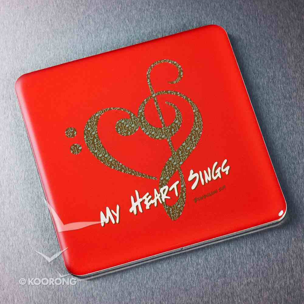 Meaningful Magnet: My Heart Sings Novelty