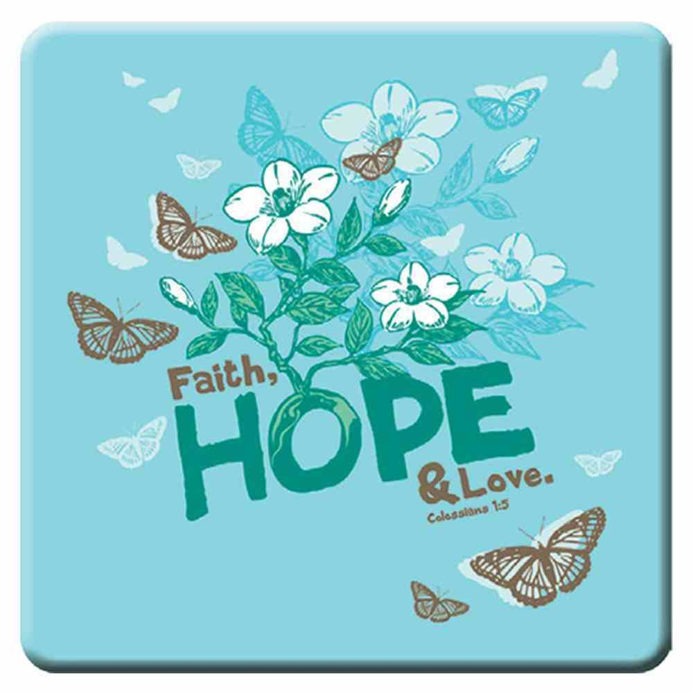 Meaningful Magnet: Faith, Hope, Love Novelty