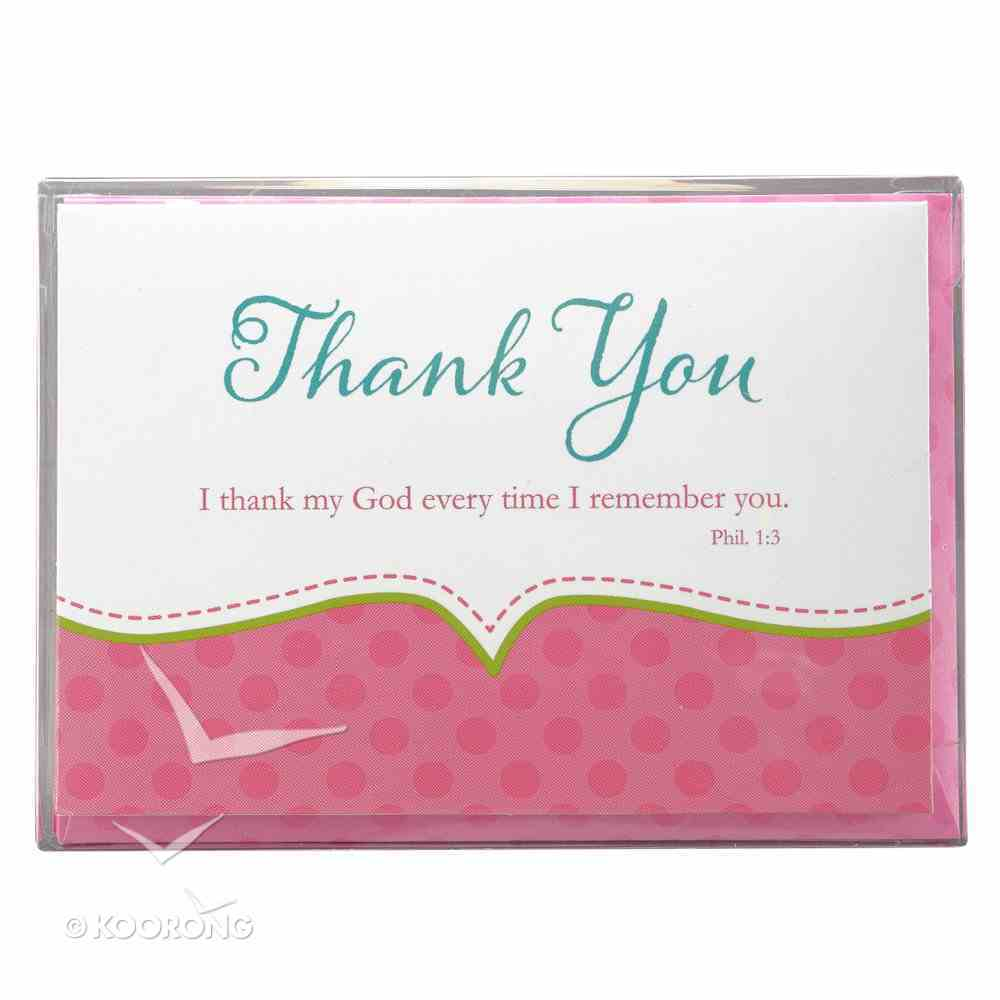 Boxed Cards: Thank You Girl (10 Cards/envelopes) Box