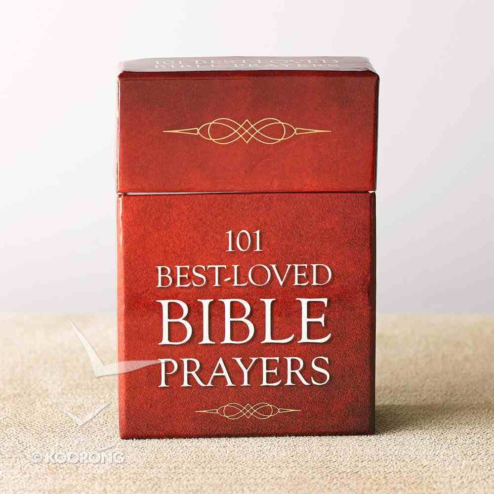 Box of Blessings: 101 Best Loved Bible Prayers Stationery