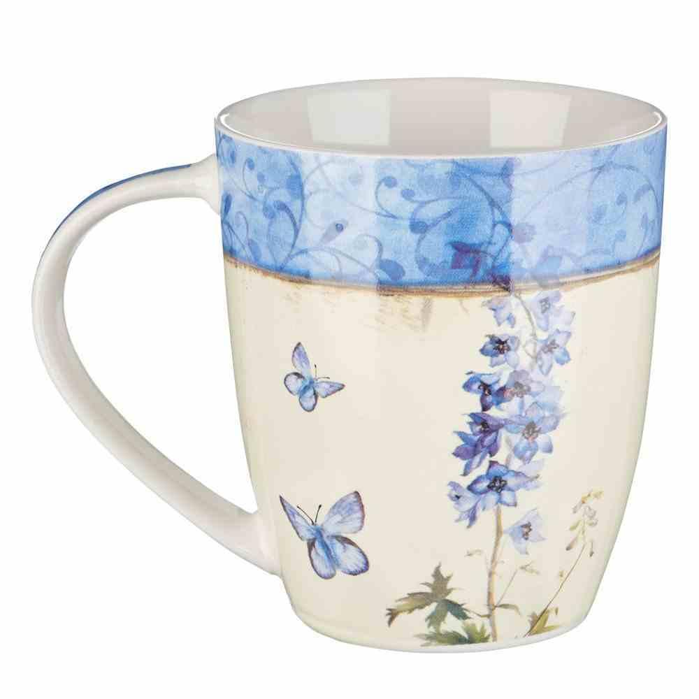Ceramic Mug: New Every Morning (Lam 3:22-25) Blue (355ml) Homeware