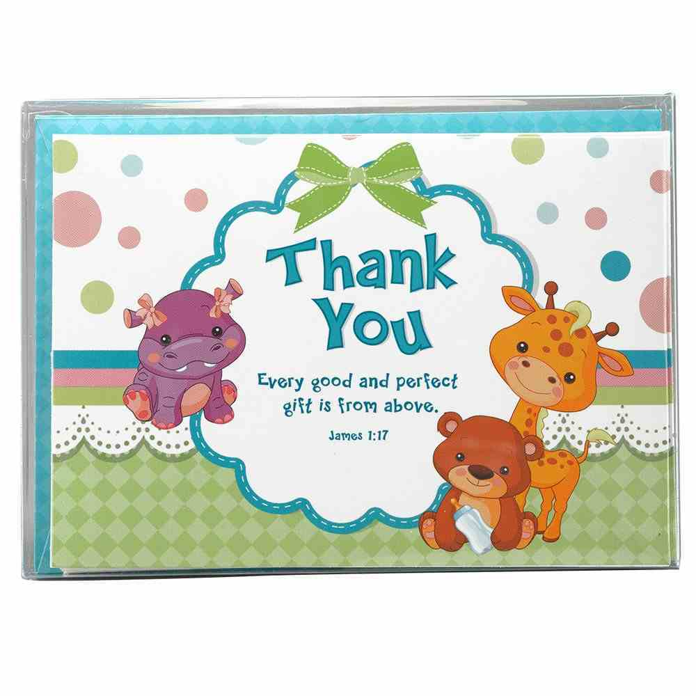Boxed Cards: Thank You Lulla (10 Cards/envelopes) Box
