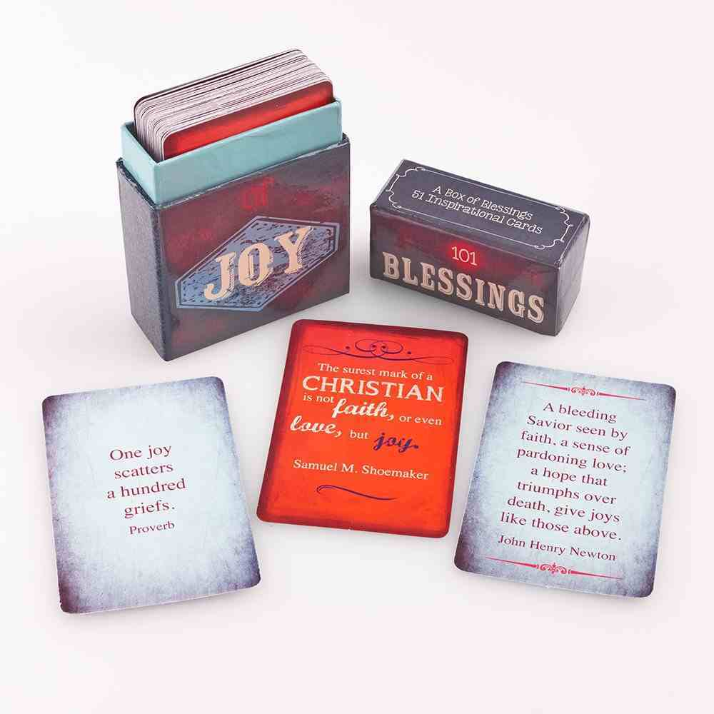 Box of Blessings: 101 Blessings of Joy Stationery