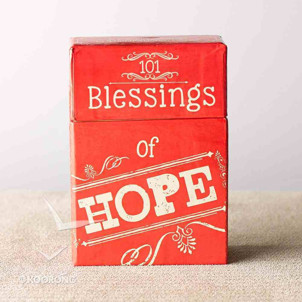 Box of Blessings: 101 Blessings of Hope Stationery