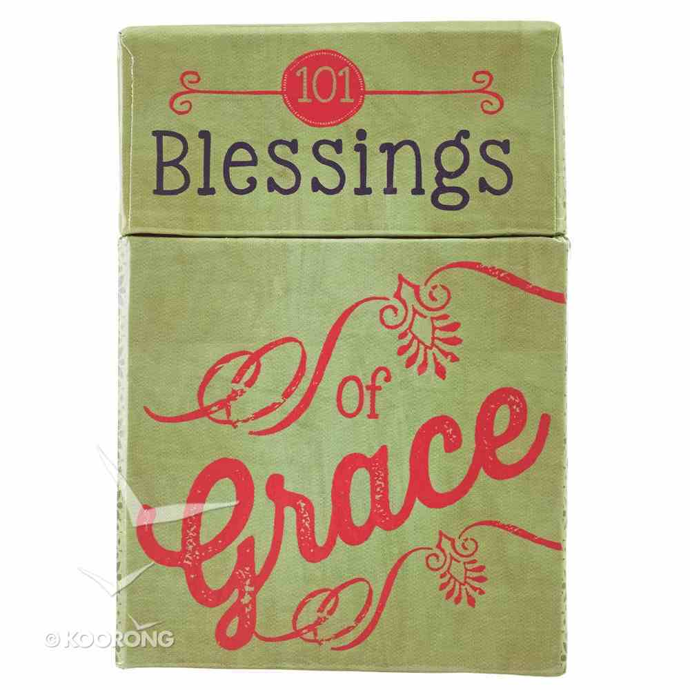 Box of Blessings: 101 Blessings of Grace Stationery