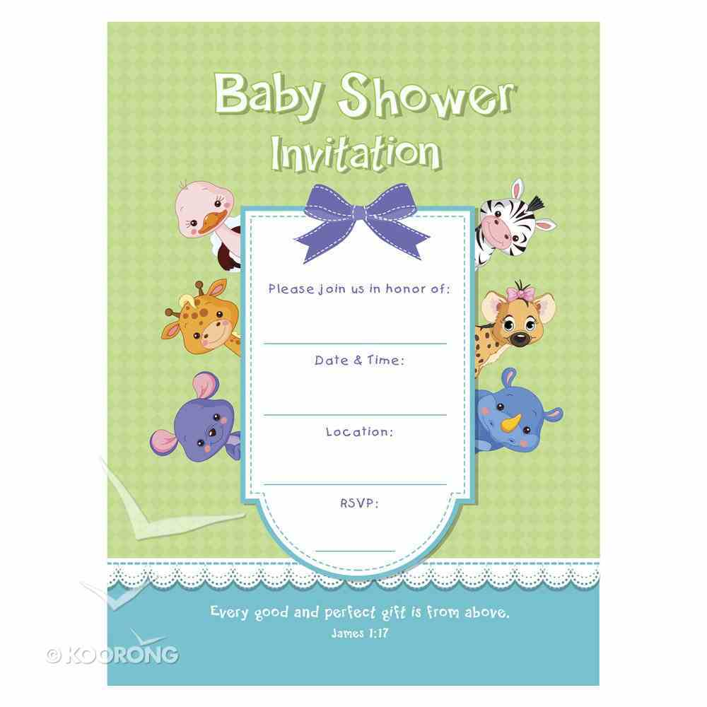 Boxed Cards: Baby Shower Invitation (10 Cards) Box