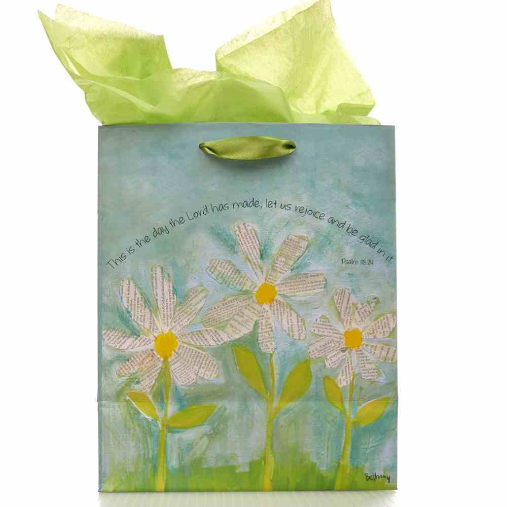 Gift Bag Medium Petals of Praise: This is the Day... Stationery