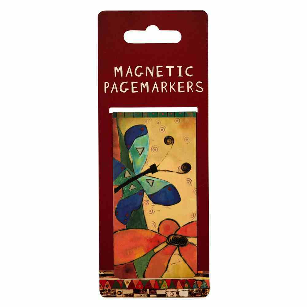 Bookmark Magnetic Large: Butterfly Stationery
