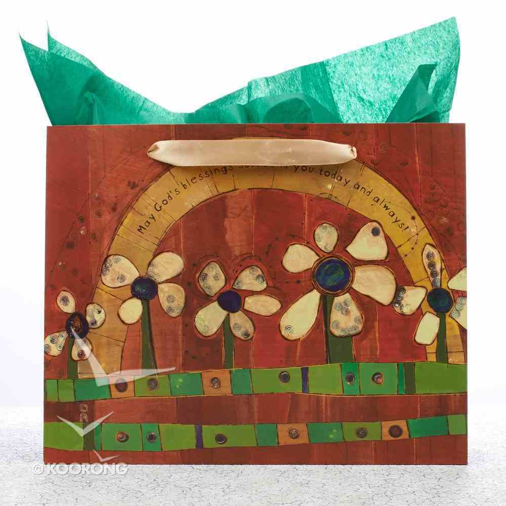 Gift Bag Large Golden Blossoms: Daisies Stationery