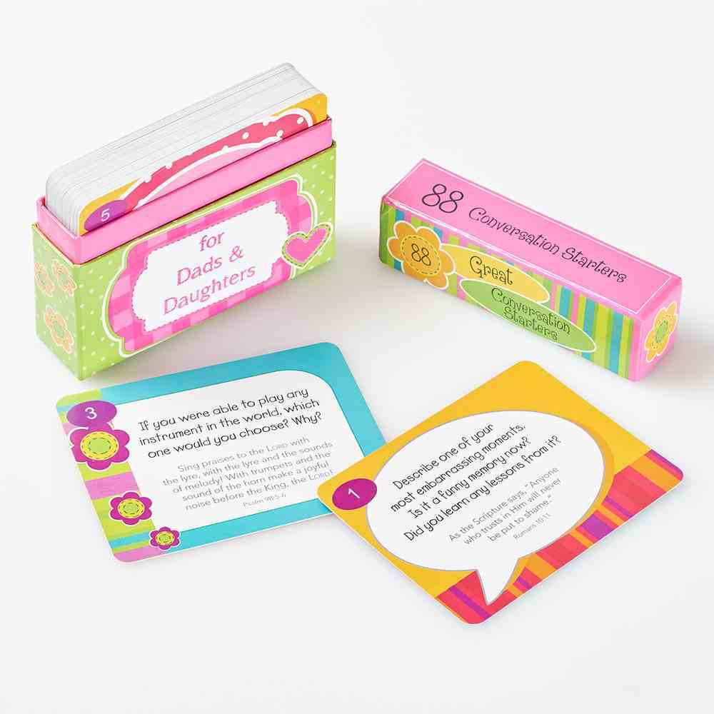 Conversation Starters: For Dads & Daughters Cards Stationery