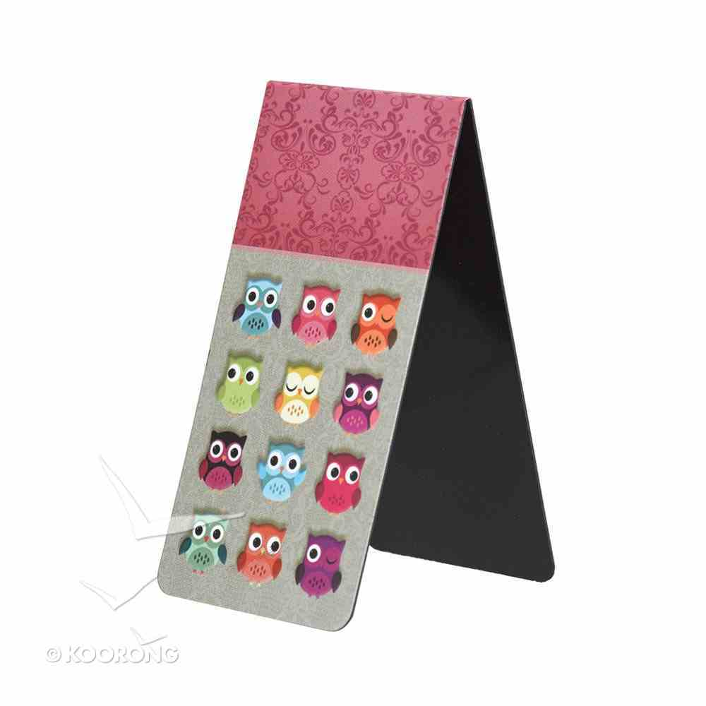 Bookmark Magnetic Large: Owl- Wisdom For the Soul Stationery