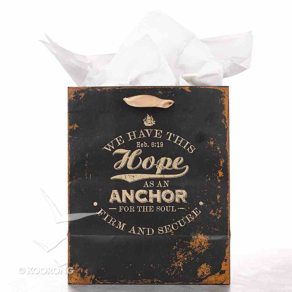 Gift Bag Medium: Hope as An Anchor For the Soul Stationery