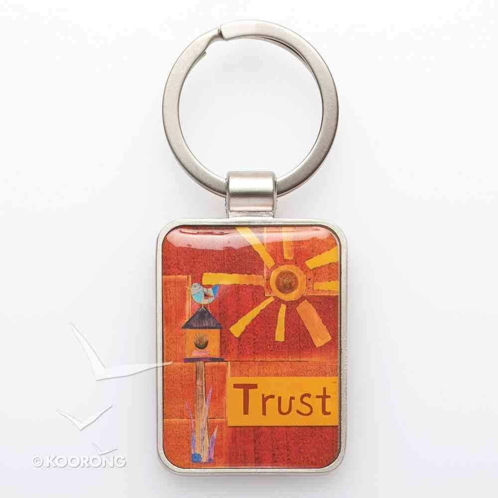 Metal Keyring: Trust Jewellery