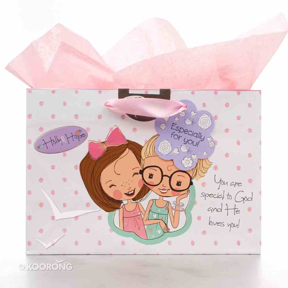 Gift Bag Large Holly & Hope: Especially For You (Incl Tissue Paper & Gift Tag) Stationery