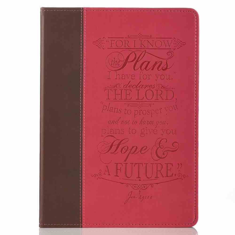 Tablet Cover: I Know the Plans.... Pink/Brown General Gift