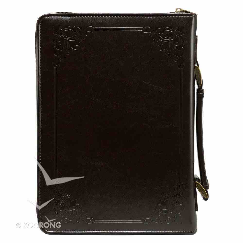 Bible Cover Medium Holy Bible Brown Luxleather Bible Cover