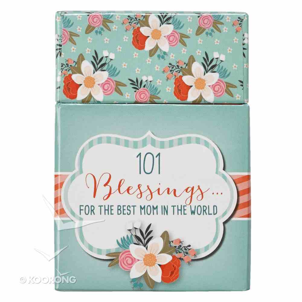 Box of Blessings: 101 Blessings For the Best Mom in the World Box